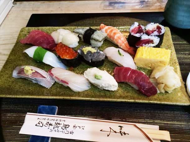 鳥越寿司のランチ