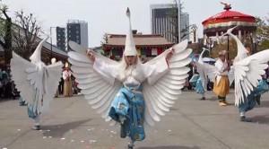 浅草寺の舞、金龍の舞、白鷺の舞、福聚の舞を見に行こう!