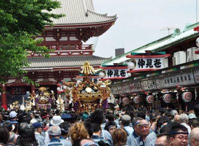 浅草最大のお祭り、三社祭を見に行こう!