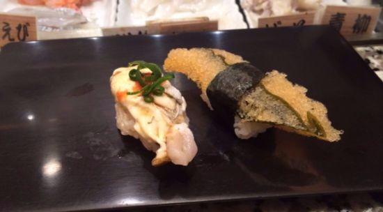 子もち昆布と牡蠣