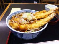 尾張屋:大きな海老天の天ぷら蕎麦がおすすめ!