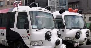 浅草の無料シャトルバス、パンダバスで観光しよう!