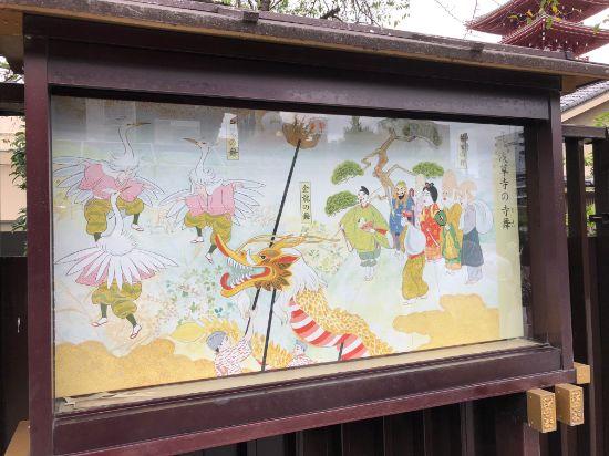 浅草寺の寺舞