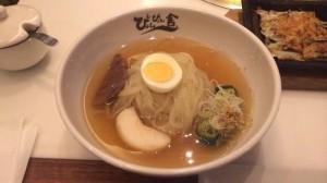 スカイツリーソラマチのぴょんぴょん舎Te-suで盛岡冷麺を!