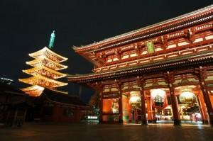 観光前にチェックしておきたい浅草寺14の諸堂
