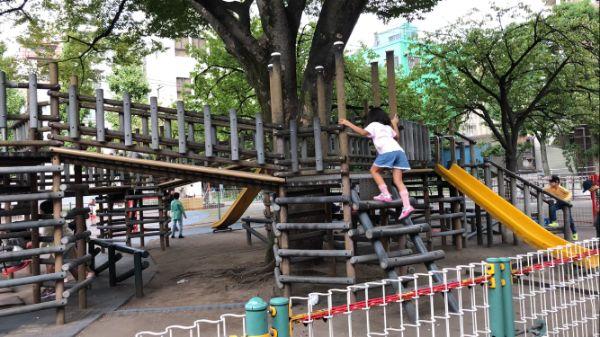 花川戸公園のアクレチック