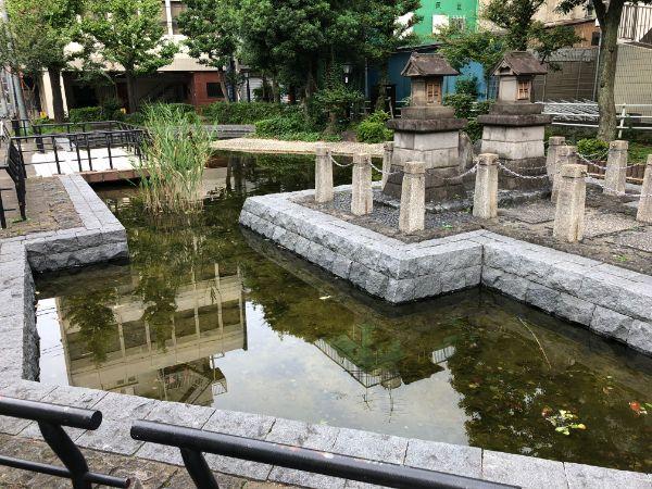 花川戸公園の池