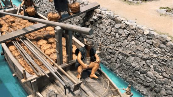塩作りの模型