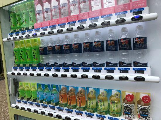 浅草寺の自動販売機