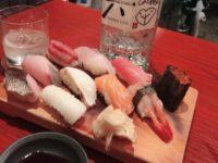 浅草の鮨晴。深夜にお寿司が楽しめる気軽な居酒屋バル。