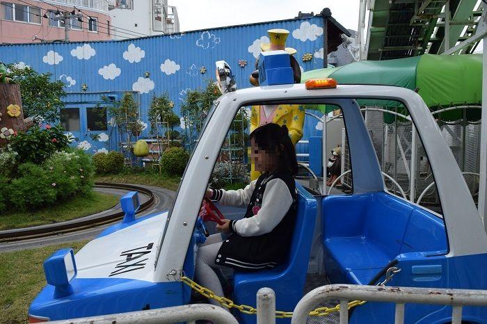 ちびっこタクシーの車体