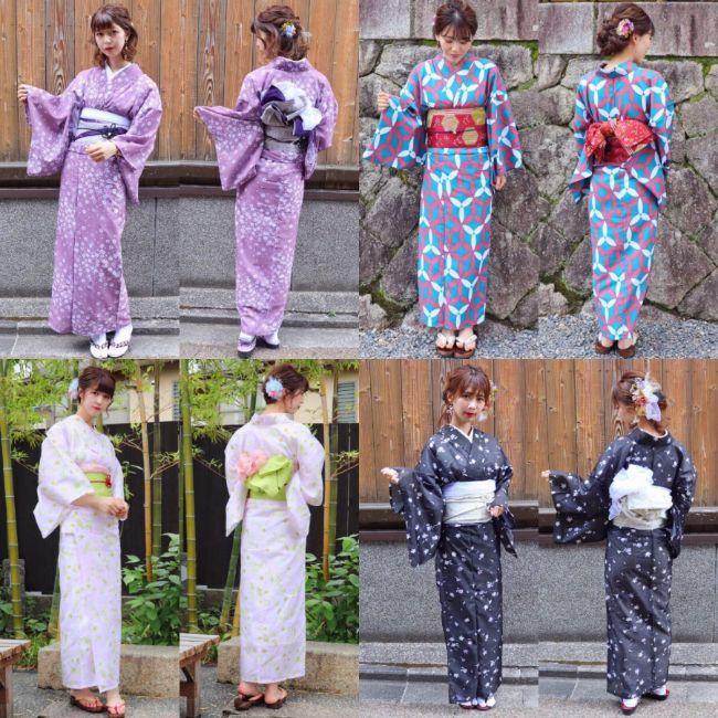 梨花和服コーディネート1