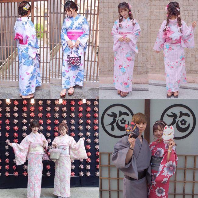 梨花和服コーディネート2
