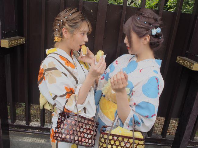 梨花和服で浴衣レンタル