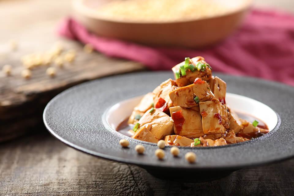 漁見特製麻婆豆腐
