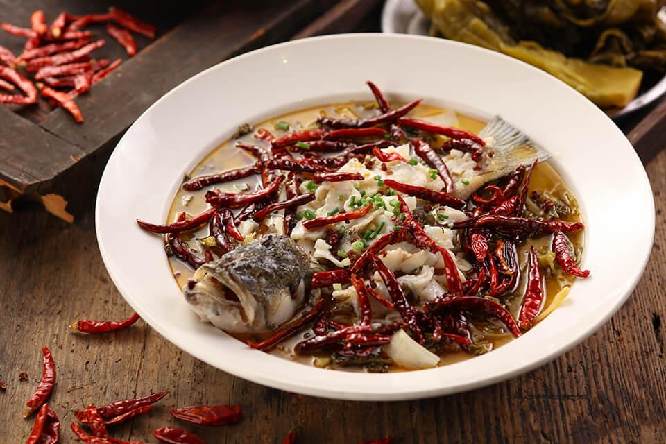 花椒香る老壇酸菜魚